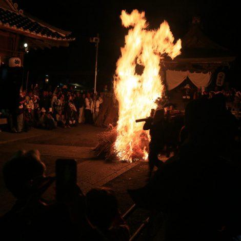 保津の火まつり