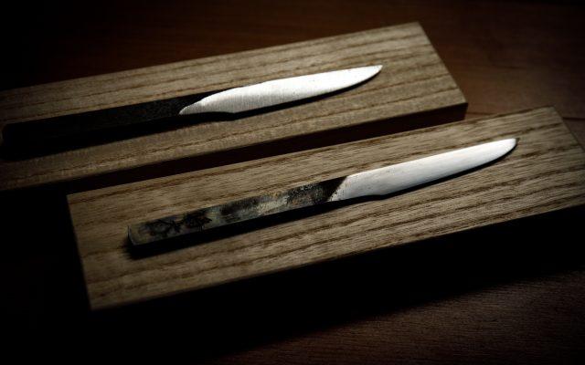 日本刀と同じ素材「玉鋼」を使用!京都で唯一の本格刀剣作り体験