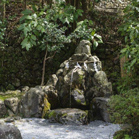 出雲大神宮の真名井の水