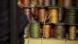 >Silk Fabric with Kira