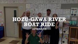 >Hozu-gawa river boat ride