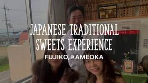 >Japanese traditional sweets experience in Kyoto