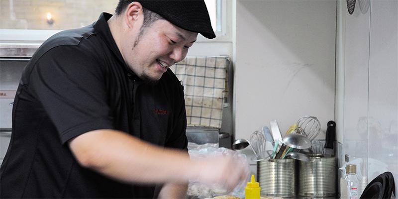 京都丹波ワインのレストラン「ヴィンヤードグリル」 木戸シェフ